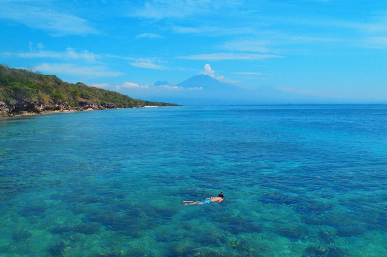 snorkel water bali