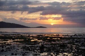 Pulaki view sunset