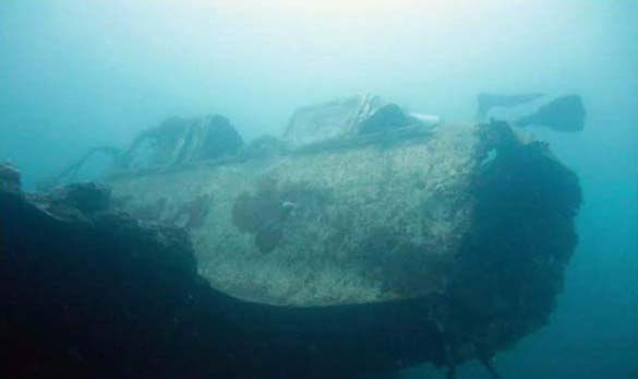 WWII Plane Wreck Diving