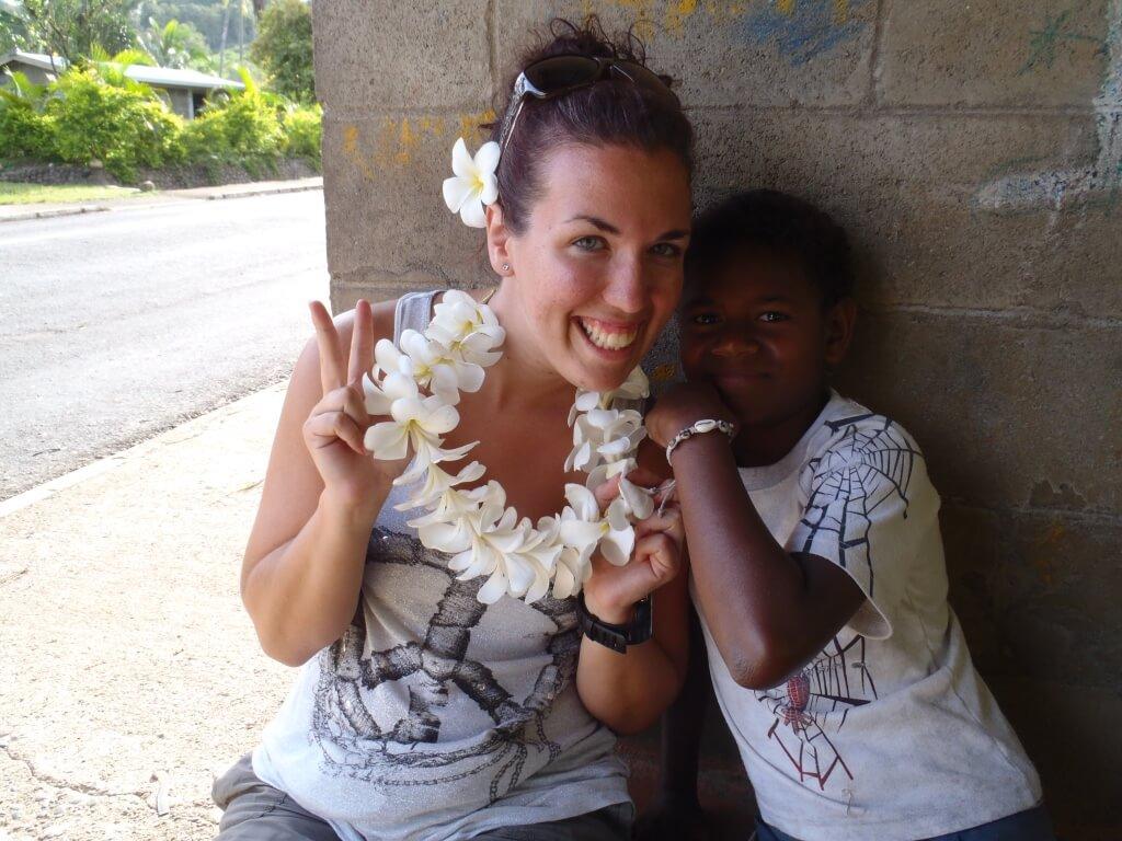 Pacific Island smile