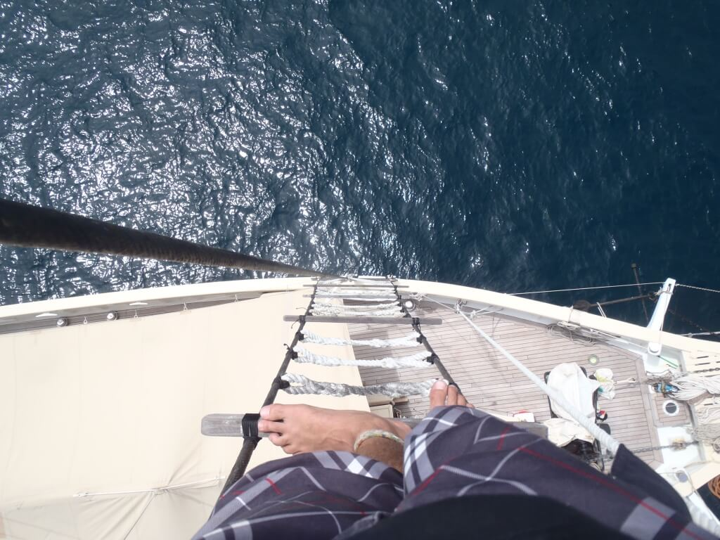 view top ship