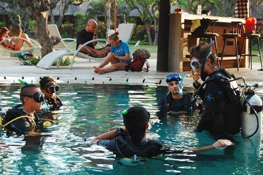 Pemutaran PADI Open Water Diver Course