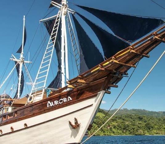 Aurora ship bali
